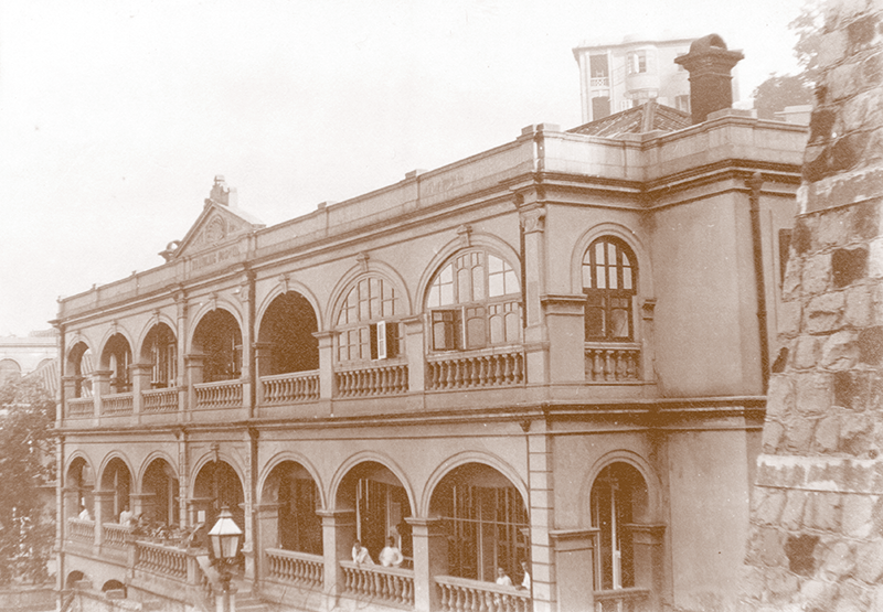 Ho Miu Ling Hospital in 1906